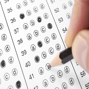 Questionnaire and answers of the national entrance examination